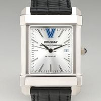 Villanova Champ 2016 M's Collegiate Watch with Leather Strap