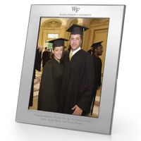 Wake Forest Polished Pewter 8x10 Picture Frame