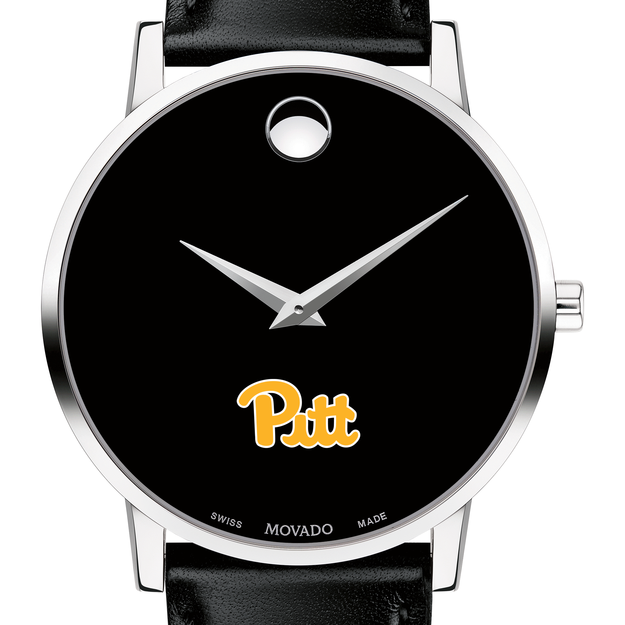 Pitt Men's Movado Museum with Leather Strap