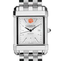 Clemson Men's Collegiate Watch w/ Bracelet