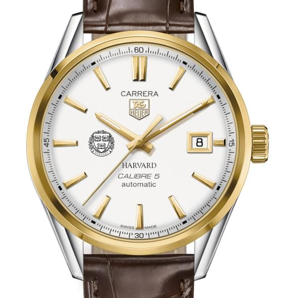 Harvard Men's TAG Heuer Two-Tone Carrera with Strap