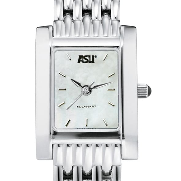 ASU Women's Mother of Pearl Quad Watch with Bracelet