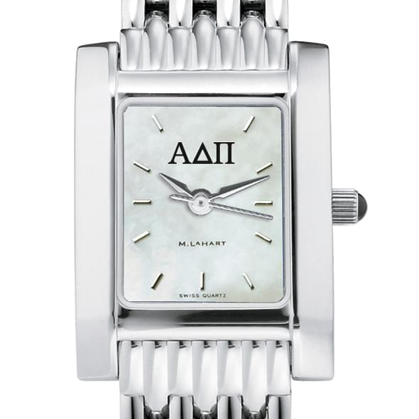 ADPi Women's Mother of Pearl Quad Watch with Bracelet