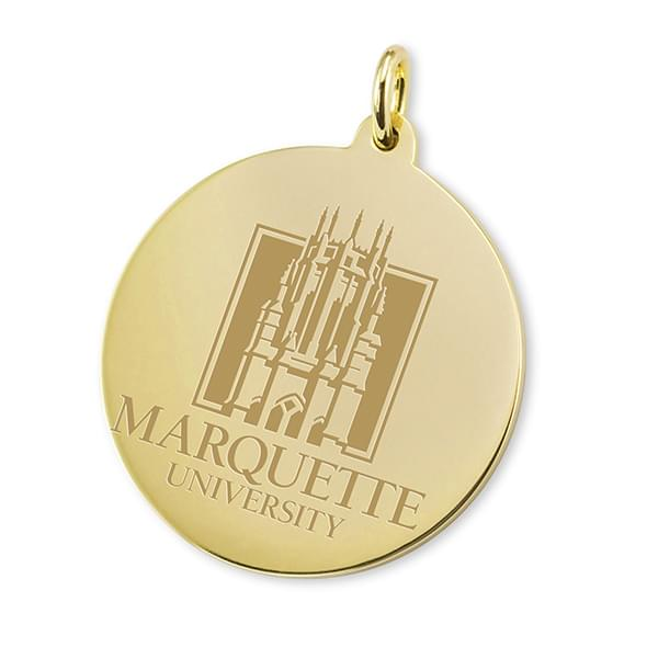 Marquette 14K Gold Charm