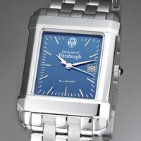 Pittsburgh Men's Blue Quad Watch with Bracelet