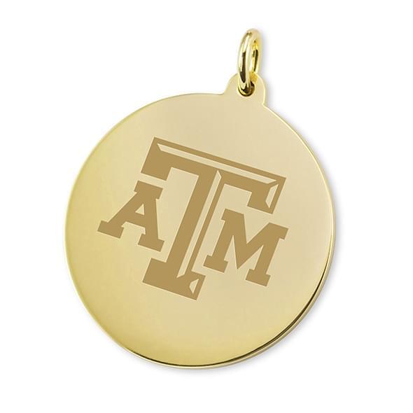 Texas A&M 14K Gold Charm