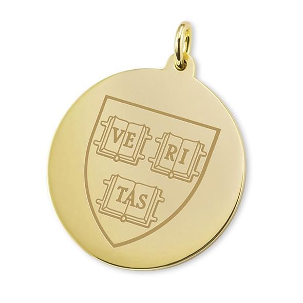 Harvard 14K Gold Charm