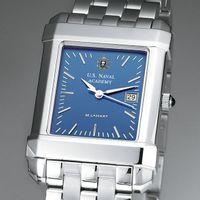 USNA Men's Blue Quad Watch with Bracelet