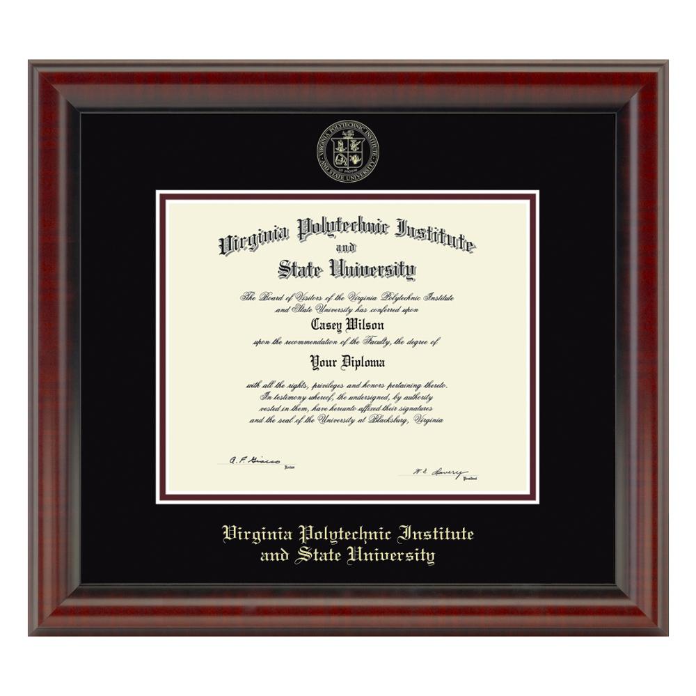 Virginia Tech Fidelitas Frame -Bachelors