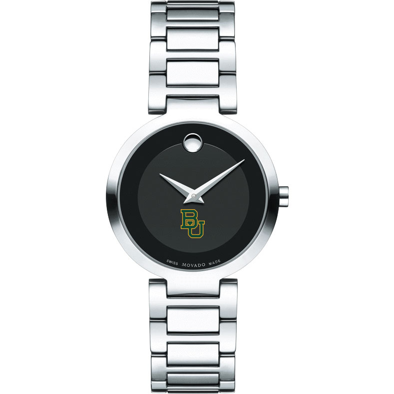 Baylor Women's Movado Museum with Steel Bracelet