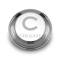Colgate Pewter Paperweight