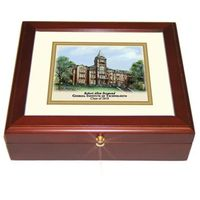 Georgia Tech Eglomise Desk Box