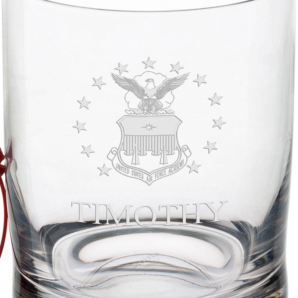 USAFA Tumbler Glasses - Set of 2