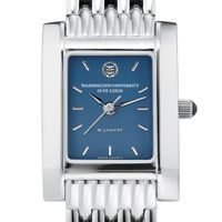 WUSTL Women's Blue Quad Watch with Bracelet