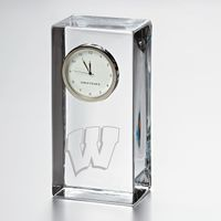 Wisconsin Tall Desk Clock by Simon Pearce