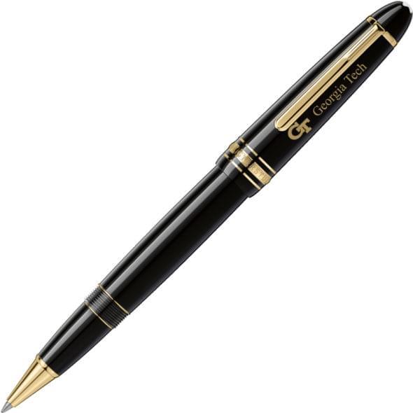 Georgia Tech Montblanc Meisterstück LeGrand Rollerball Pen in Gold