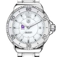 NYU Women's TAG Heuer Formula 1 Ceramic Diamond Watch