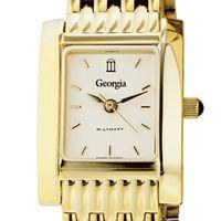 Georgia Women's Gold Quad with Bracelet