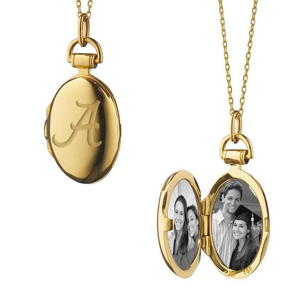 Alabama Monica Rich Kosann Petite Locket in Gold