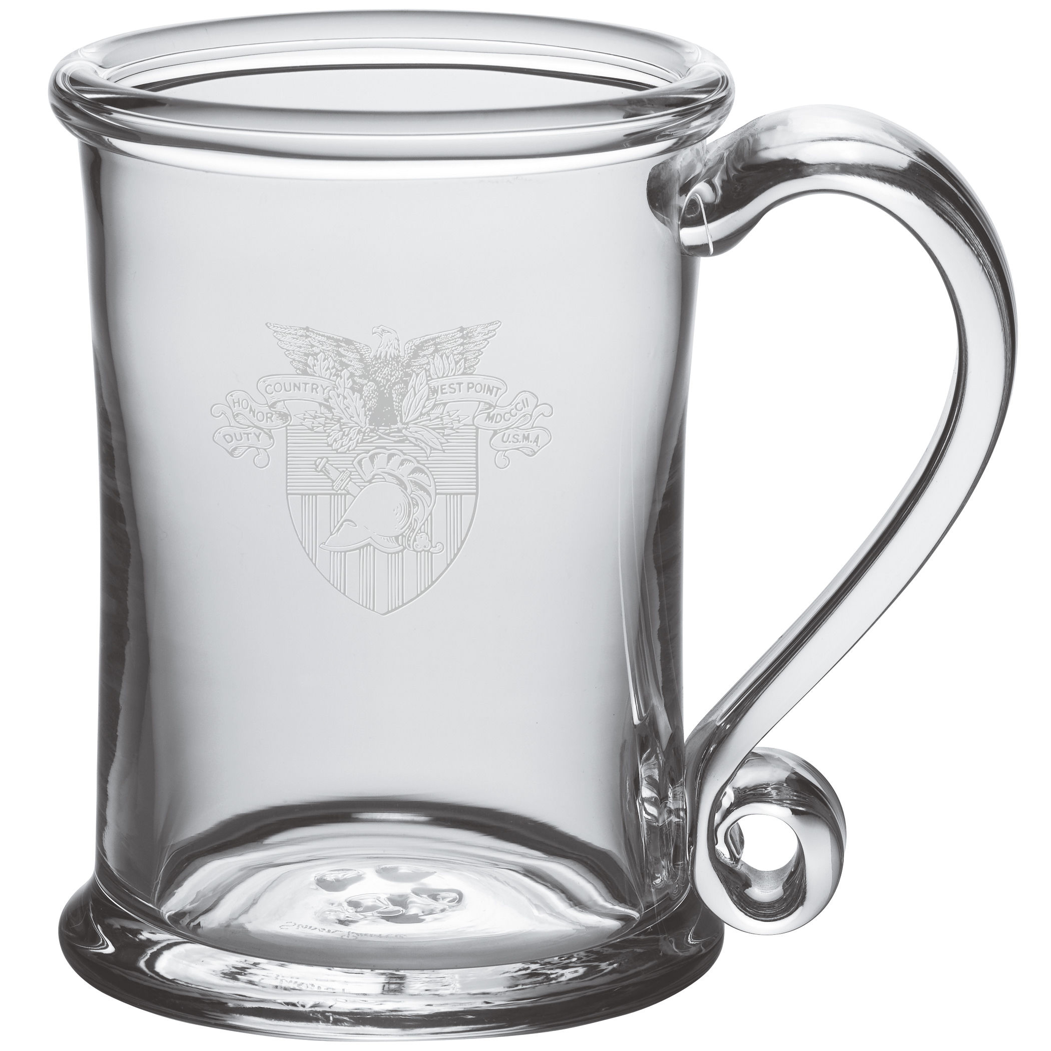 West Point Glass Tankard by Simon Pearce