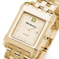 Duke Men's Gold Quad Watch with Bracelet