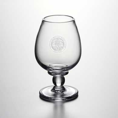 USMMA Glass Brandy Snifter by Simon Pearce