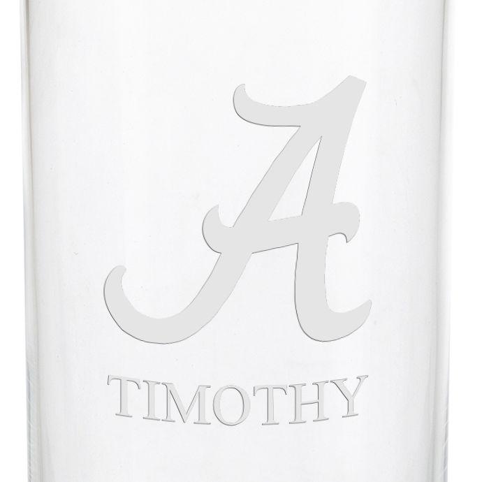Alabama Iced Beverage Glasses - Set of 2