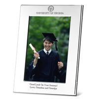 UVA Polished Pewter 4x6 Picture Frame