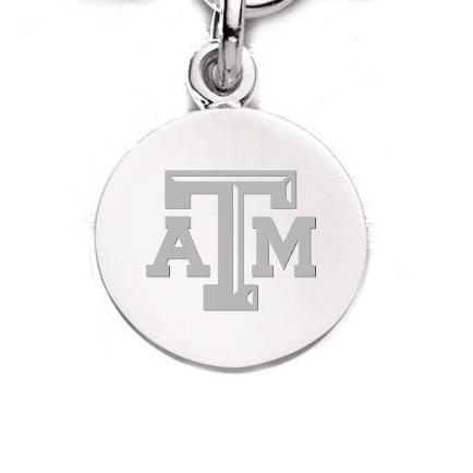 Texas A&M Sterling Silver Charm