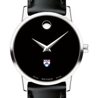 Penn Women's Movado Museum with Leather Strap