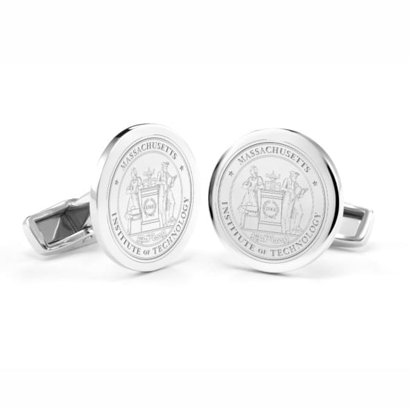 MIT Sterling Silver Cufflinks