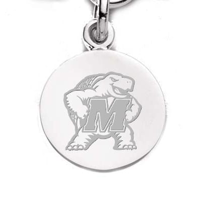 Maryland Sterling Silver Charm