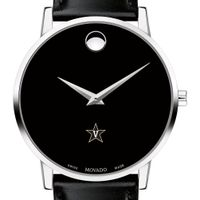 Vanderbilt Men's Movado Museum with Leather Strap