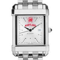 Maryland Men's Collegiate Watch w/ Bracelet