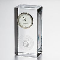 George Washington Tall Glass Desk Clock by Simon Pearce