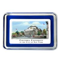 Columbia University Eglomise Paperweight