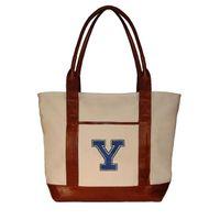 Yale Needlepoint Tote