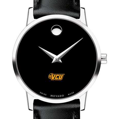 VCU Women's Movado Museum with Leather Strap