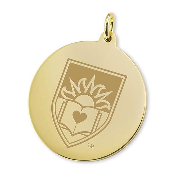 Lehigh 14K Gold Charm