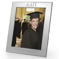 Alpha Delta Pi Polished Pewter Frame (Large 8x10)