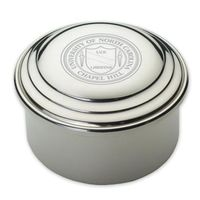 UNC Pewter Keepsake Box