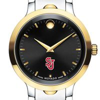St. John's University Men's Movado Luno Sport Two-Tone