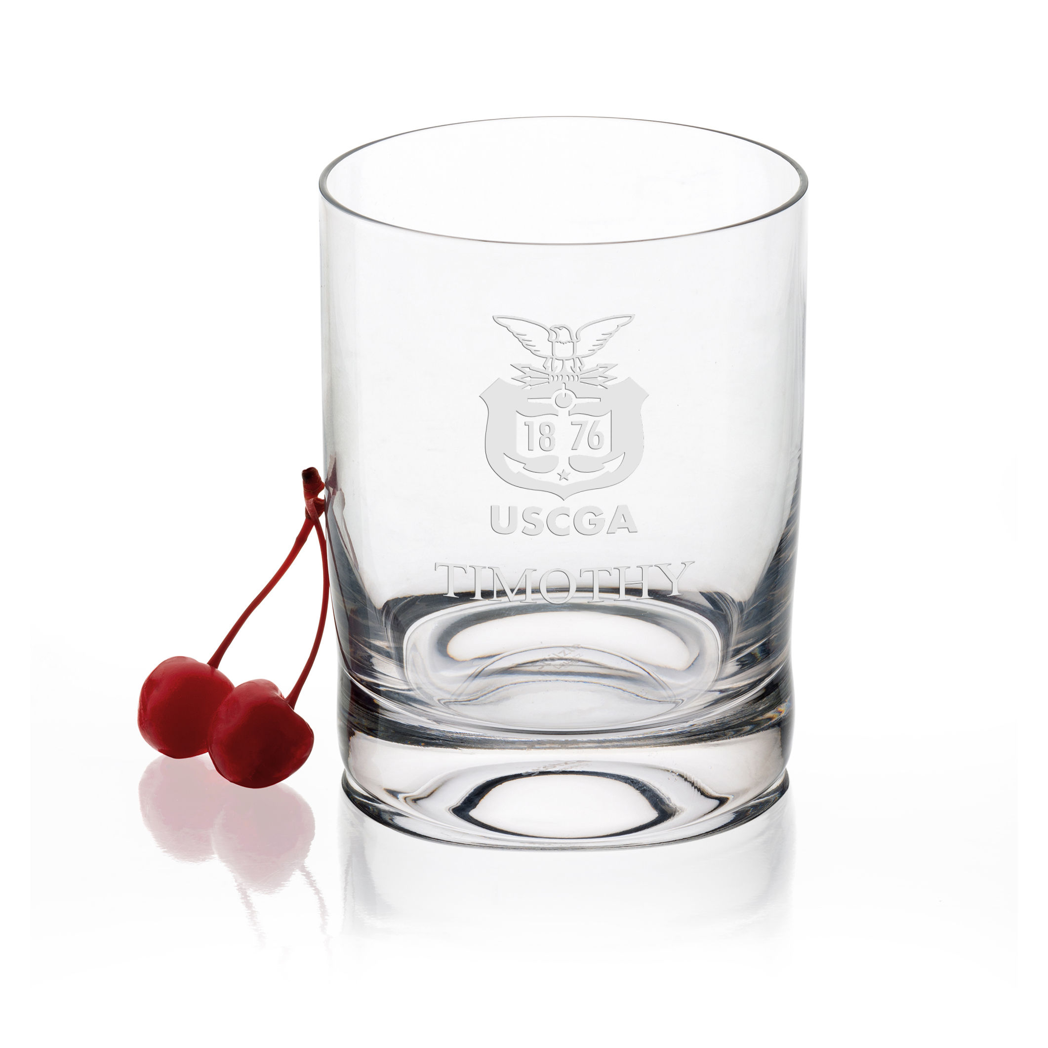 USCGA Tumbler Glasses - Set of 4