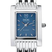 Emory Women's Blue Quad Watch with Bracelet