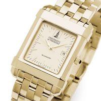 UVM Men's Gold Quad Watch with Bracelet