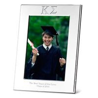 Kappa Sigma Polished Pewter 4x6 Picture Frame Image-1 Thumbnail