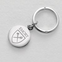 Emory Sterling Silver Insignia Key Ring