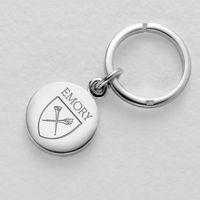 Emory Sterling Silver Insignia Key Ring Image-1 Thumbnail