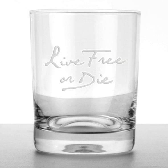 """""""Live Free or Die"""" Tumblers- Set of 4"""