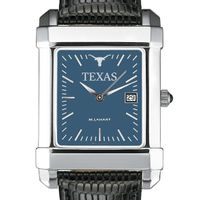 Texas Men's Blue Quad Watch with Leather Strap
